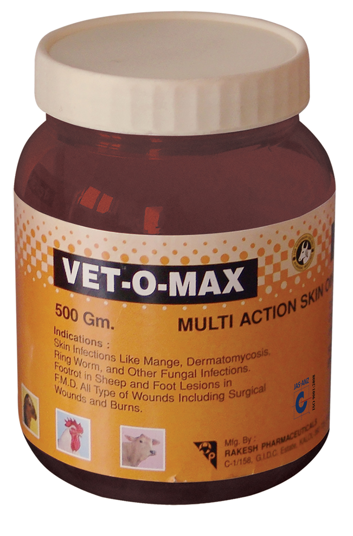 VET O MAX OINTMENT