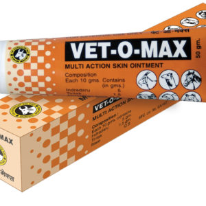 Vet-O-Max Ointment 50gm